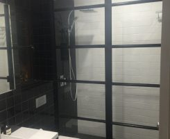 Steel Frame Shower Screen