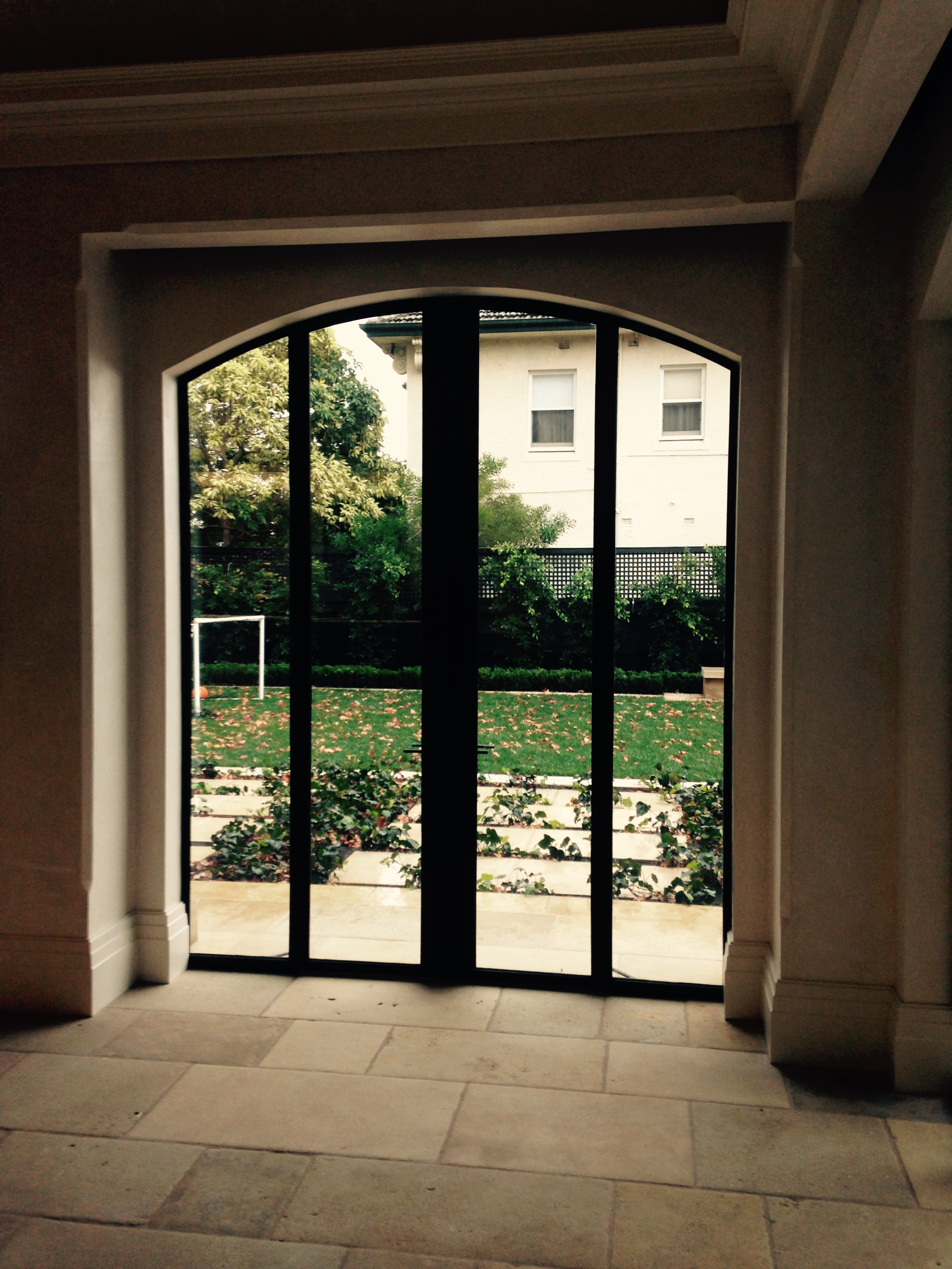 Steel frame windows and doors - Private Residence